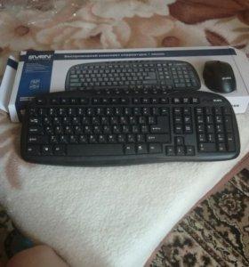 Беспроводной комплект клавиатура+мышь