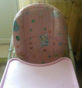 Стул для кормления ( стул, качели и качалка 3в1 )