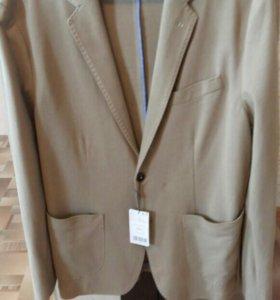 Мужской пиджак новый 52 размер