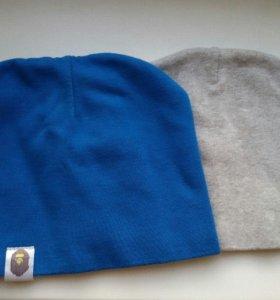 синяя шапка для мальчика