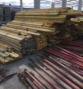 Балка Ригель деревянная опалубка перекрытия Бу