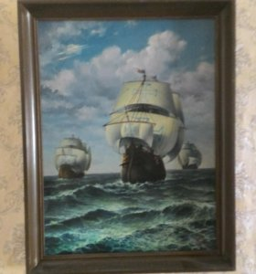 "Картина ""Колумб"""