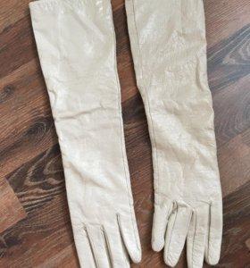 Длинные перчатки под лак