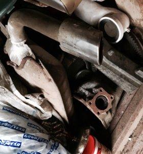 Глушитель на Mitsubishi Lancer 10