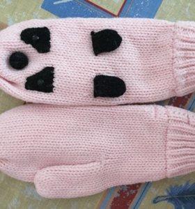 Варежки /перчатки