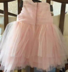 Пышное Розовое Платье!🎀