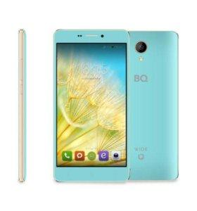 Телефон BQ white editeon LTE 4G