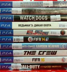 Игры на PS4 в ассортименте\25.03