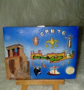 """Украшение для интерьера-сувенир """"Crete""""/Крит"""