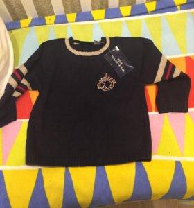 Новый свитер 110 р