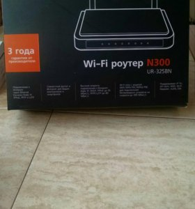 Wi-fi роутер upvel n300