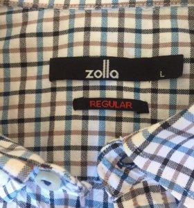 Рубашка мужская Zolla б/у