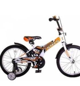 Новый дет велосипед 18 дюймов (от склада)