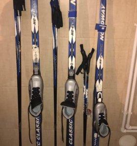 Новые лыжи!