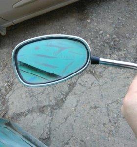 Левое зеркало на suzuki skiwave400