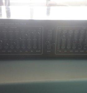 Эквалайзер импортный Wangine WQ-7800