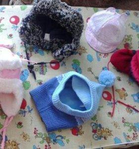 Детские шапочки.