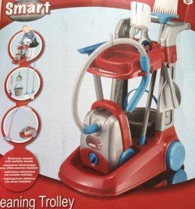 """Детский набор для уборки с тележкой """"Smart"""""""