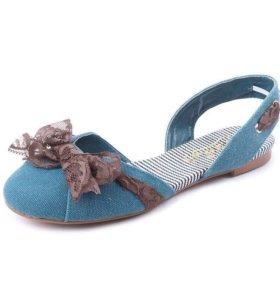 Балетки, сандали