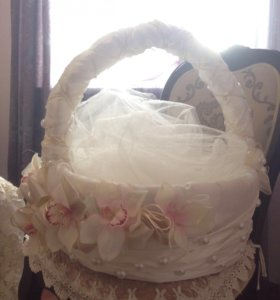 Корзина свадебная