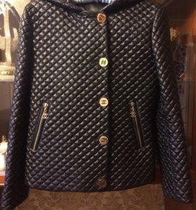 Куртка (кожа/Шанель)