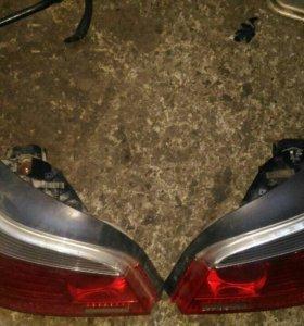 Фонари задние на БМВ е60 дорестайлинг