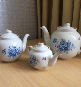 Набор из трех чайников