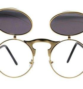 Очки унисекс с двойными линзами