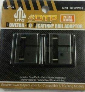 Адаптер переходник Leapers MNT-DT2PW01