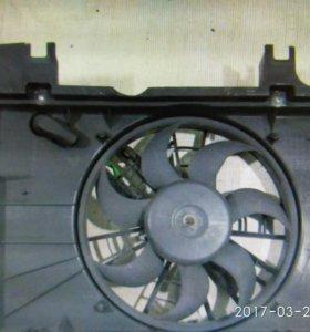 Вентилятор радиатора volvo 850