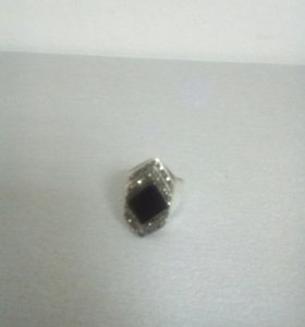 серебро капельное кольцо