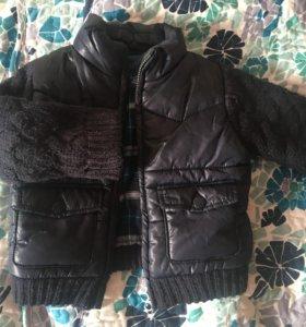Куртка Zara 9-12 мес