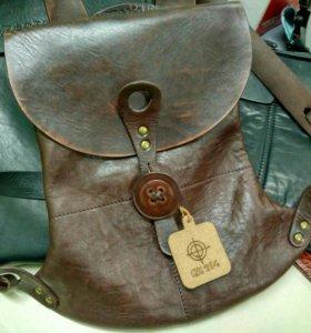 Дизайнерский кожаный рюкзак