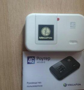 Роутер 4G MR100-3 MEGAFON