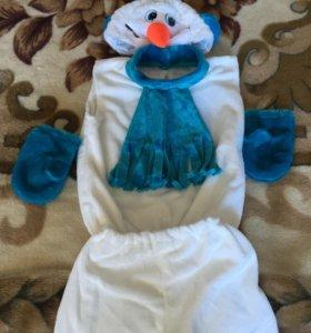 "Карнавальный костюм ""Снеговик"".Аренда."
