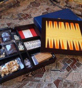 Набор игр 7 в 1. Нарды, шахматы и т.д.