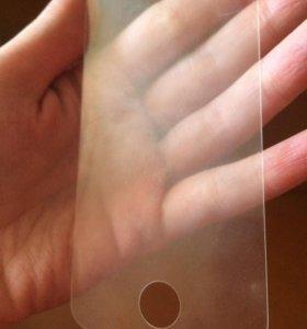 Матовое защитное стекло на iphone 4