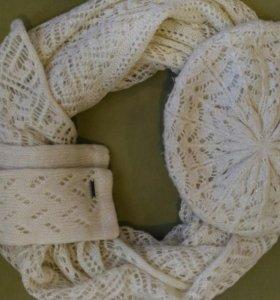 Шапка, шарф и перчатки из Zolla