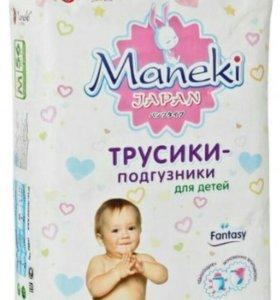 Трусики памперс Maneki 6-11 кг