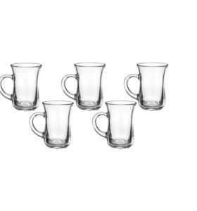 Пять стаканов для чая 140мл