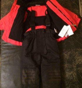 Новый комплект куртка и полукомбинезон