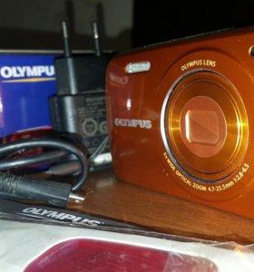 Яркий фотоаппарат Olympus VH-210 14Мп 5x