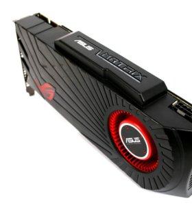 Видеокарты Asus Matrix Radeon HD 5870 2Гб. 2 шт