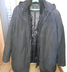 Куртка мужская, зимняя двойная