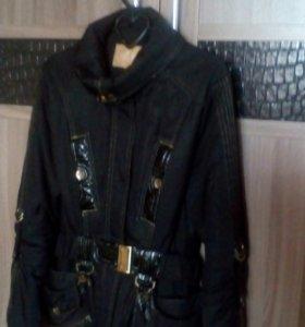 Куртка женская р 44 в хорошем состоянии