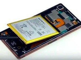 Батарейки Sony Z1,Z2,Z3