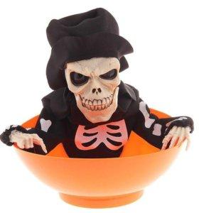 Конфетница «Скелет в шляпе»