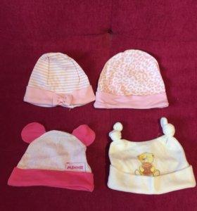 4 шапочки