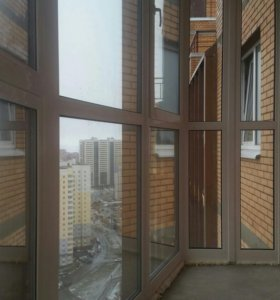 Установка окон . Отделка балконов