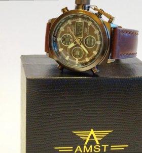 Мужские водонепроницаемые часы АМСТ